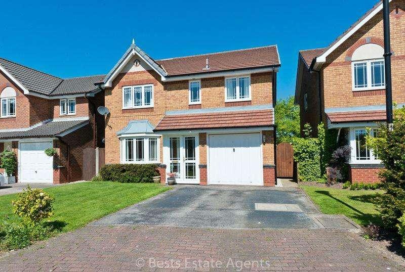 4 Bedrooms Detached House for sale in Malmesbury Park Sandymoor Runcorn