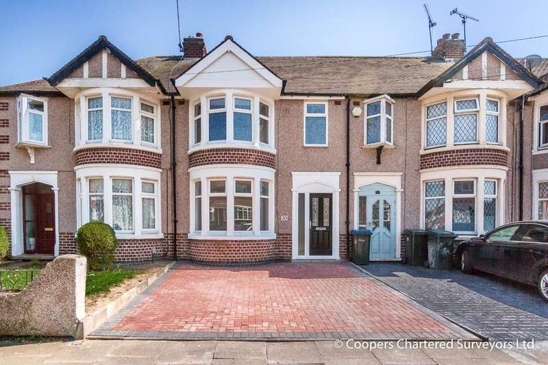 4 Bedrooms Terraced House for sale in MacDonald Road, Poets Corner, Coventry