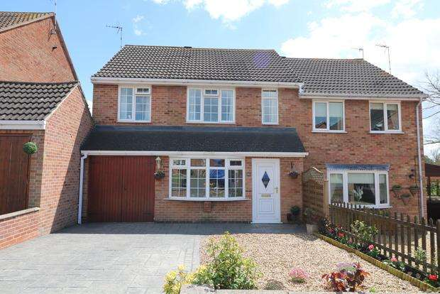 4 Bedrooms Semi Detached House for sale in Woodcock Drive, Melton Mowbray, LE13