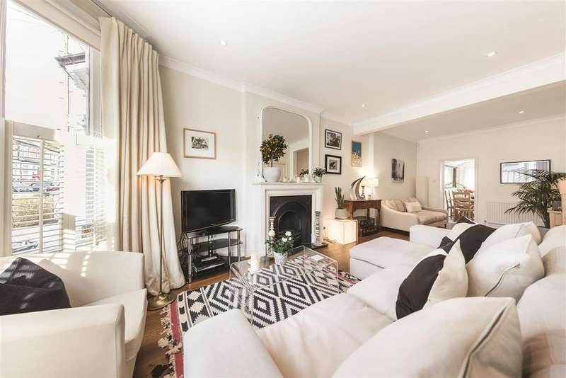 4 Bedrooms Terraced House for sale in Parkville Road, SW6