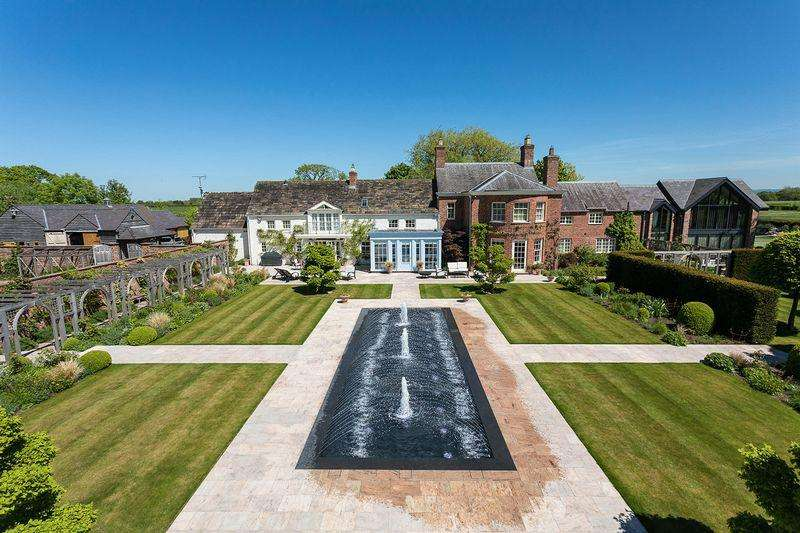 5 Bedrooms Country House Character Property for sale in Ollerton, Nr Knutsford