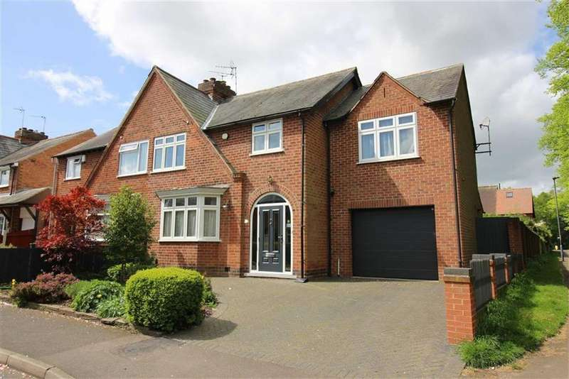 4 Bedrooms Semi Detached House for sale in Bank View Road, Darley Abbey, Derby