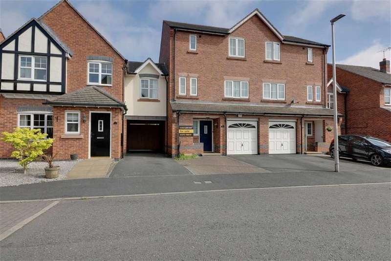 4 Bedrooms Town House for sale in Sunnymill Drive, Sandbach