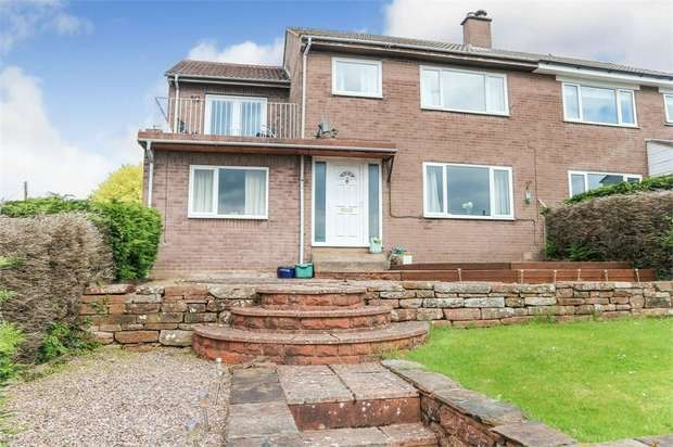 4 Bedrooms Semi Detached House for sale in Little Sandhill, Kirkoswald, Penrith, Cumbria