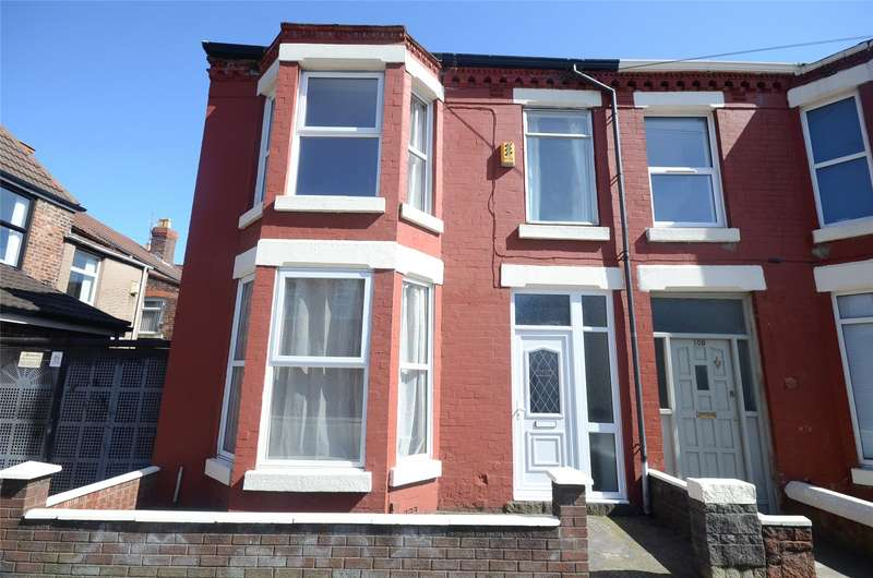 3 Bedrooms End Of Terrace House for sale in Gainsborough Road, Wavertree, Liverpool, L15
