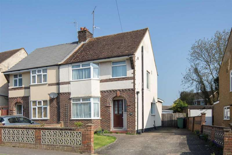 3 Bedrooms Semi Detached House for sale in Suncote Avenue, Dunstable