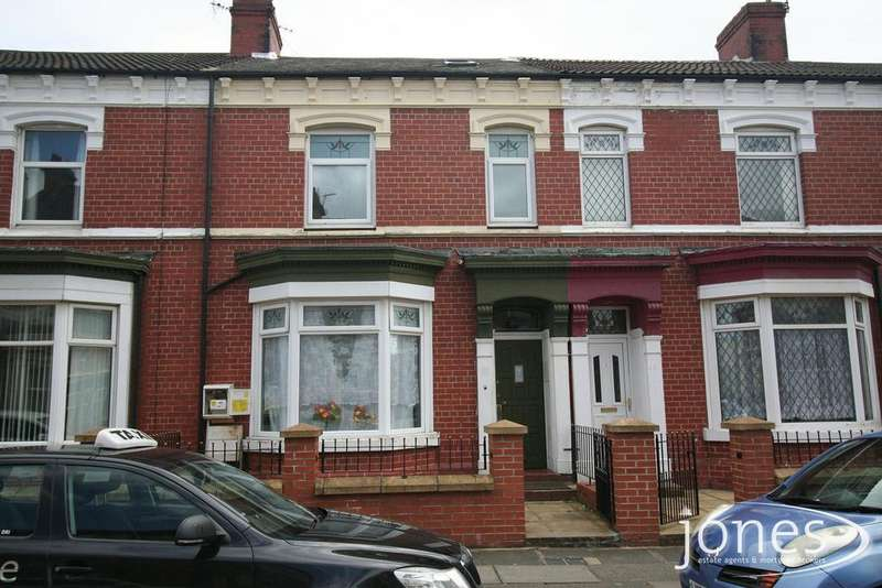 4 Bedrooms Terraced House for sale in Hartington Road, Stockton on Tees, TS18 1HD