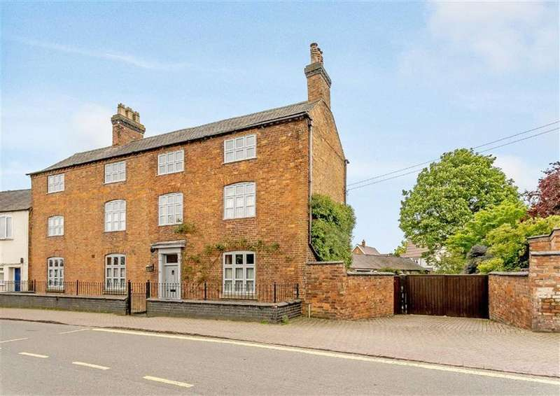 7 Bedrooms Semi Detached House for sale in High Street, Kibworth, Leicester