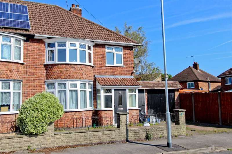 3 Bedrooms Semi Detached House for sale in Alfreton Road, Wigston