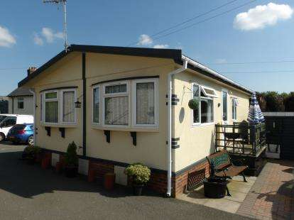 House for sale in Quarry Mobile Home Park, Queen Street, Markfield, Leicestershire