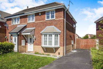 3 Bedrooms Semi Detached House for sale in Capricorn Crescent, Liverpool, Merseyside, England, L14