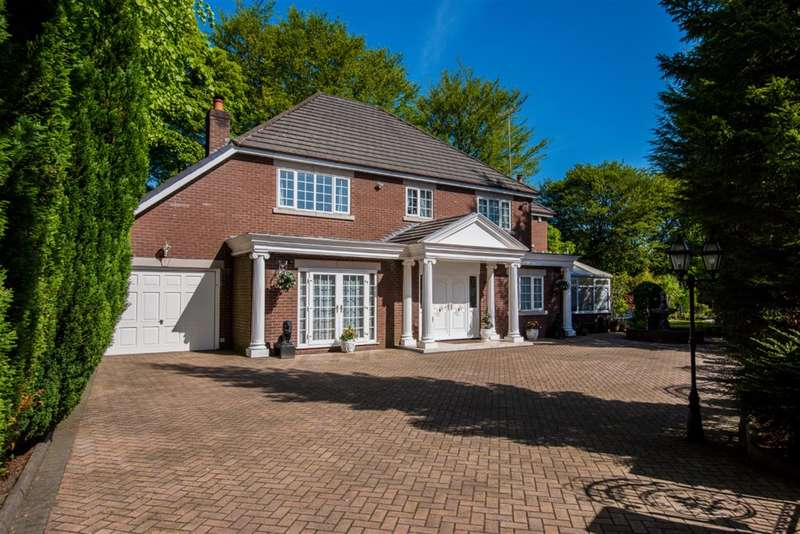 4 Bedrooms Detached House for sale in Woodstock Drive, Worsley, Manchester, M28 2NP