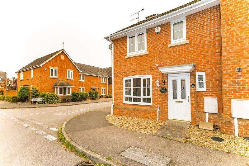 4 Bedrooms End Of Terrace House for sale in Oriel Close, Wolverton