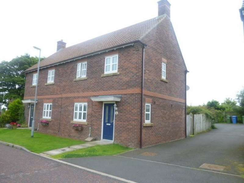 3 Bedrooms Semi Detached House for rent in Farriers Rise, Shilbottle