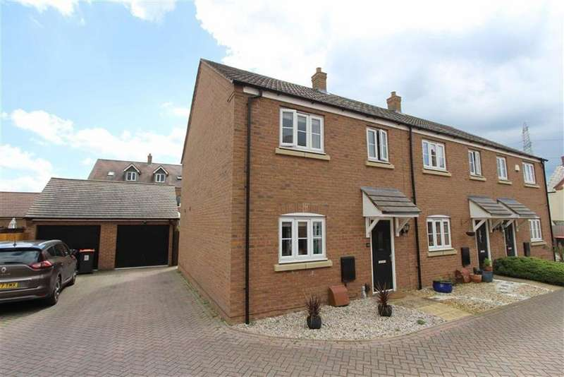 3 Bedrooms End Of Terrace House for sale in Linnet Way, Leighton Buzzard