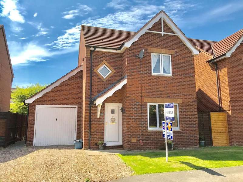 3 Bedrooms Detached House for sale in Sorrel Drive, Spalding, PE11