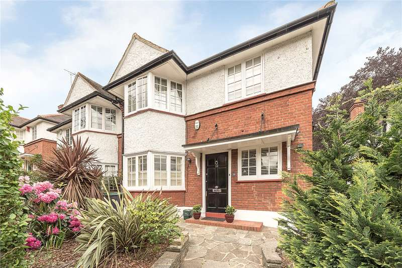4 Bedrooms Semi Detached House for sale in Wolseley Road, London, N8