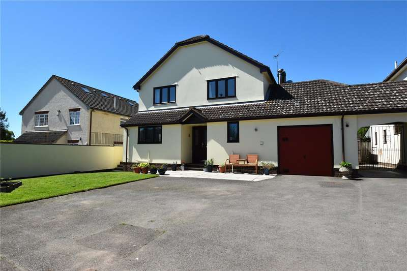 4 Bedrooms Detached House for sale in Swallows Mead, Uplowman, Tiverton, Devon, EX16