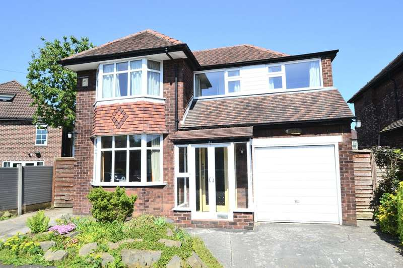 4 Bedrooms Detached House for sale in Coniston Road, Gatley
