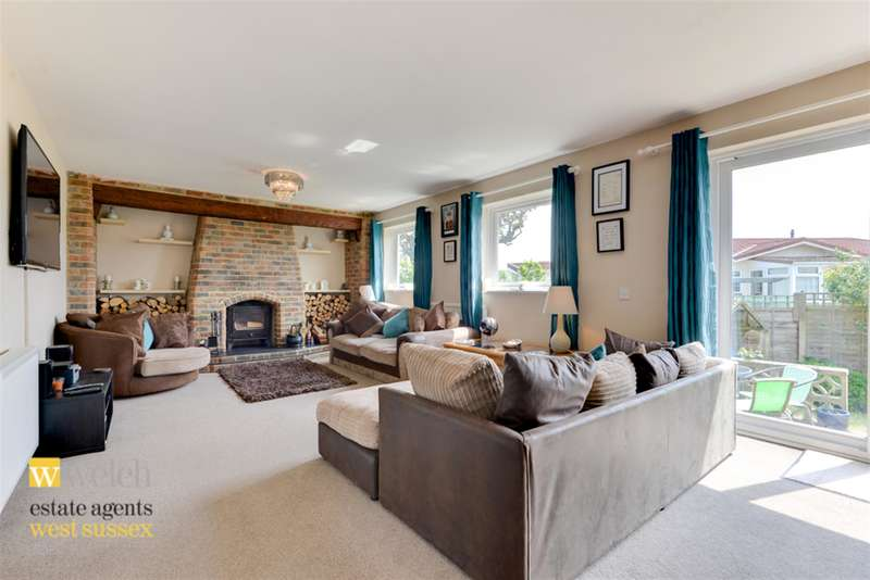 4 Bedrooms Detached House for sale in Old Salts Farm Road, Lancing, West Sussex, BN15 8JD