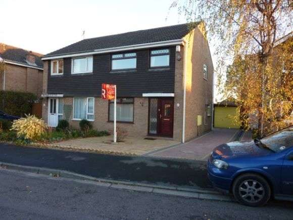 3 Bedrooms Semi Detached House for rent in Bishopdale Close, Long Eaton, Nottingham
