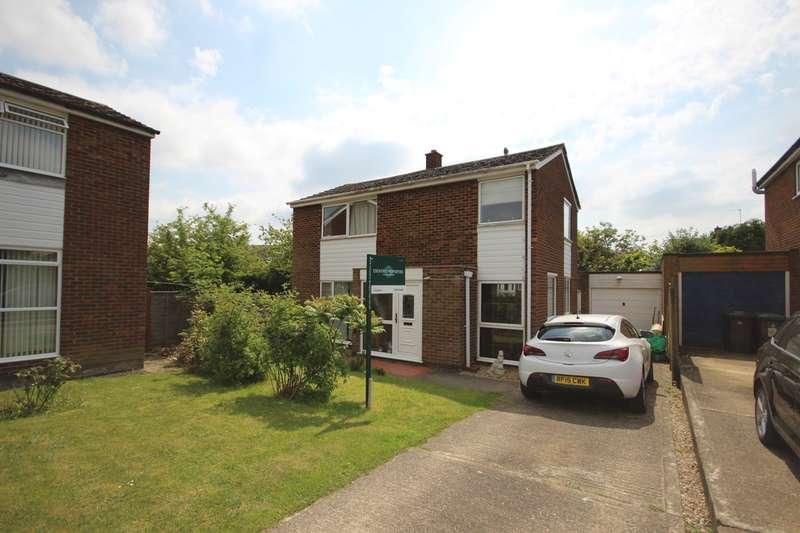 3 Bedrooms Detached House for sale in Aragon Road, Ampthill, Bedford, MK45