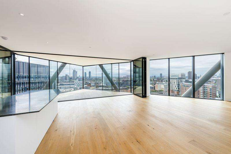 3 Bedrooms Apartment Flat for sale in 60 Holland Street, London