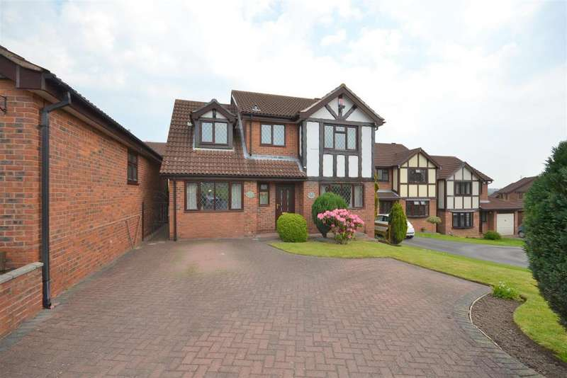 4 Bedrooms Detached House for sale in Widecombe Road, Birches Head, Stoke-On-Trent