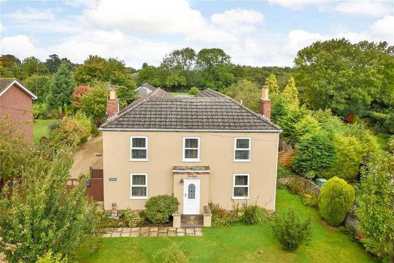 5 Bedrooms Detached House for sale in Faldingworth Road, Spridlington, Market Rasen, Lincolnshire