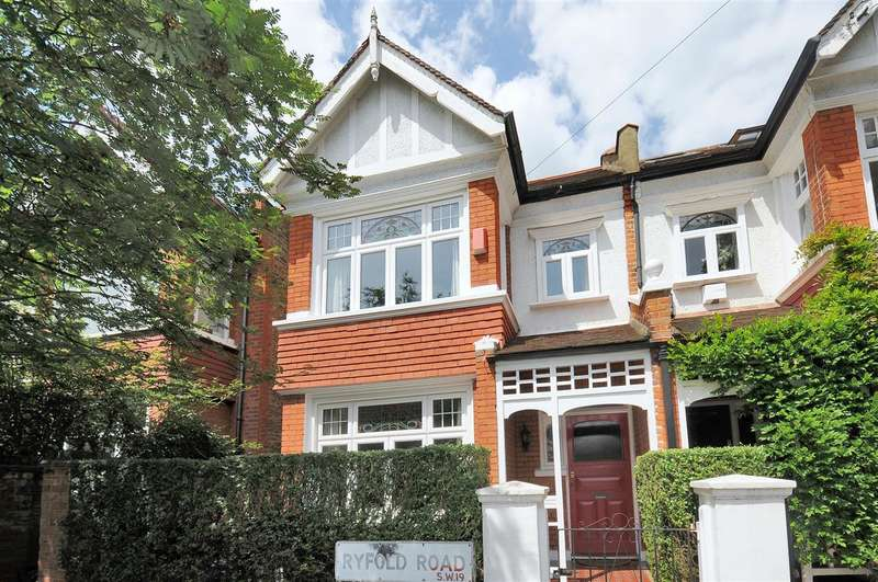 5 Bedrooms End Of Terrace House for sale in Ryfold Road, Wimbledon Park