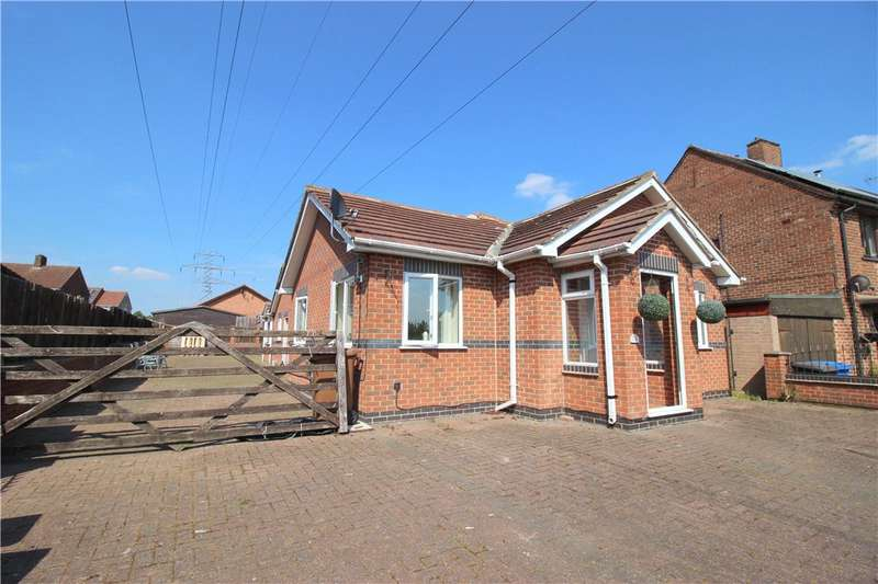 3 Bedrooms Detached Bungalow for sale in Nottingham Road, Spondon, Derby, Derbyshire, DE21