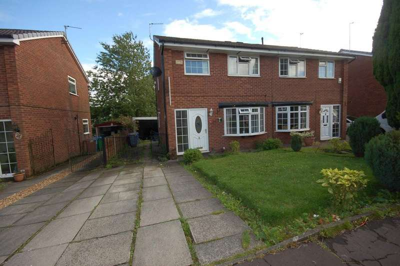3 Bedrooms Semi Detached House for sale in Augusta Close, Cronkeyshaw, Rochdale