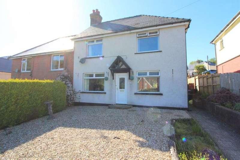 3 Bedrooms Semi Detached House for sale in Waunddu, Pontnewynydd