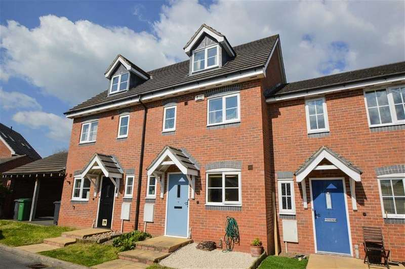 3 Bedrooms Terraced House for rent in Forge Way, Dorrington, Shrewsbury