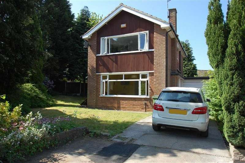 3 Bedrooms Link Detached House for sale in Keswick Drive, Bramhall, Cheshire