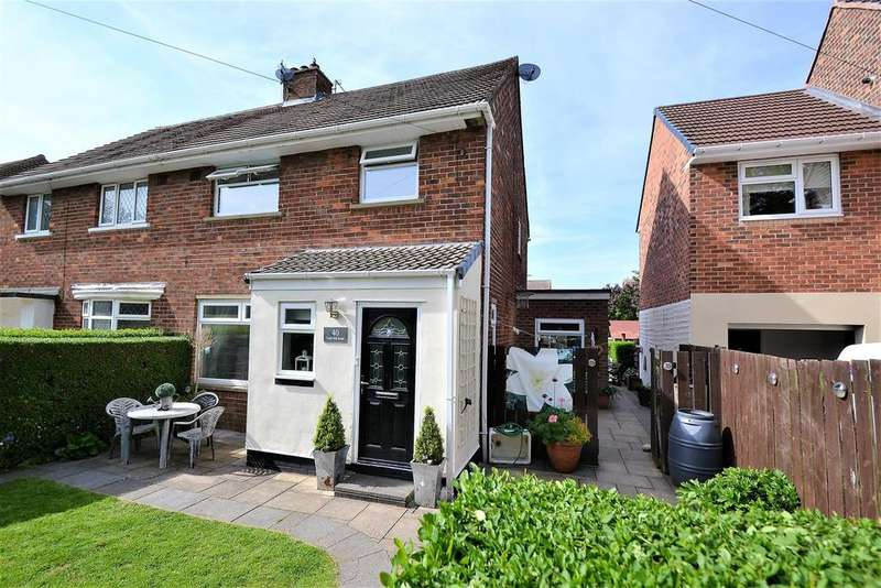 3 Bedrooms Semi Detached House for sale in York Hill Road, Spennymoor