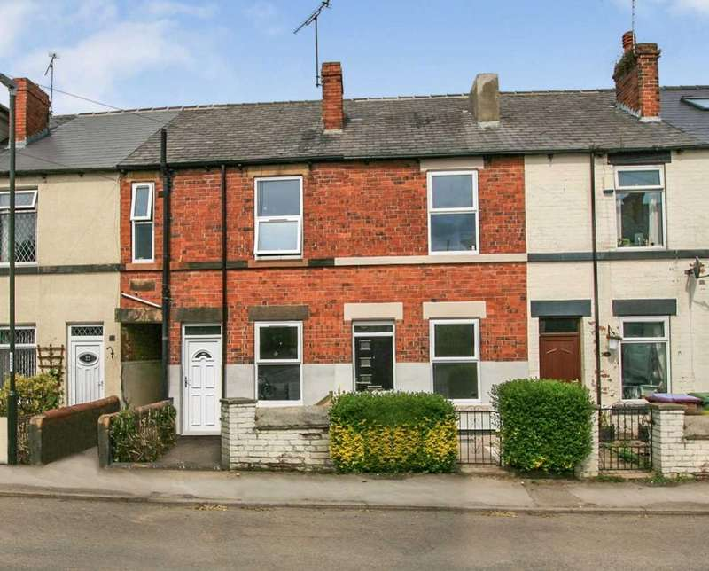 2 Bedrooms Terraced House for sale in Scarsdale Road, Dronfield, Derbyshire, S18 1SN