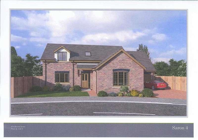 4 Bedrooms Detached Bungalow for sale in Glanfryn court, DREFACH, Llanelli