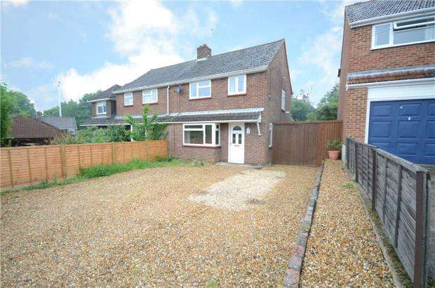3 Bedrooms Semi Detached House for sale in Crowthorne Road, Sandhurst, Berkshire