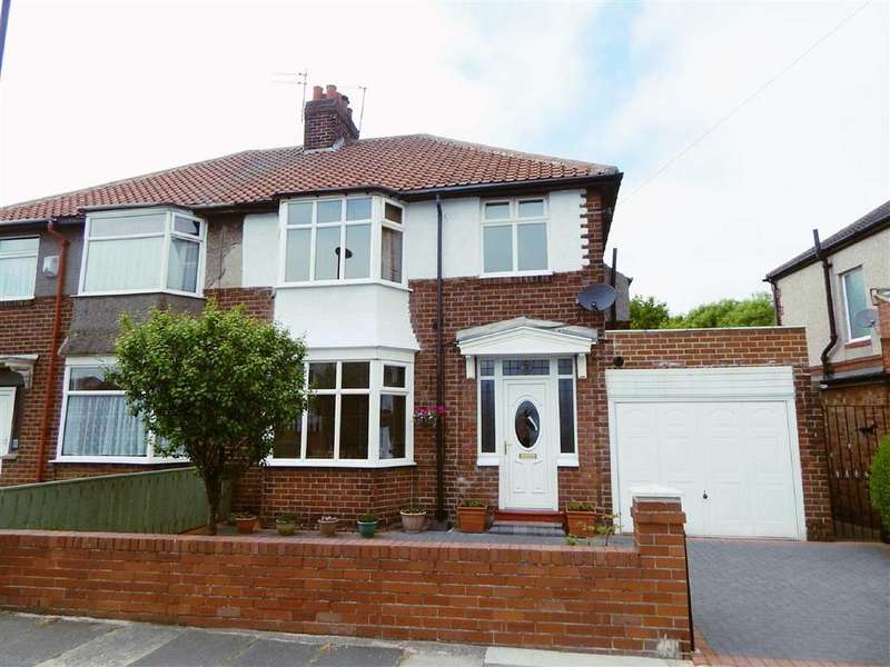 3 Bedrooms Semi Detached House for sale in Alderwood Crescent, Walkerville, Newcastle Upon Tyne, NE6