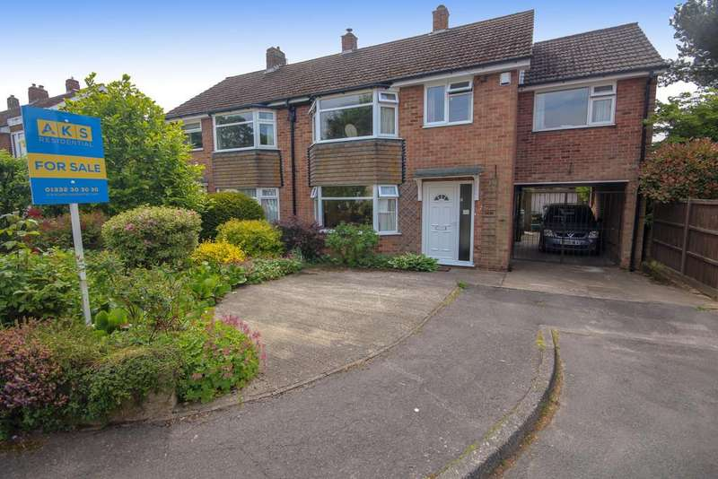 4 Bedrooms Semi Detached House for sale in Vine Close, Littleover