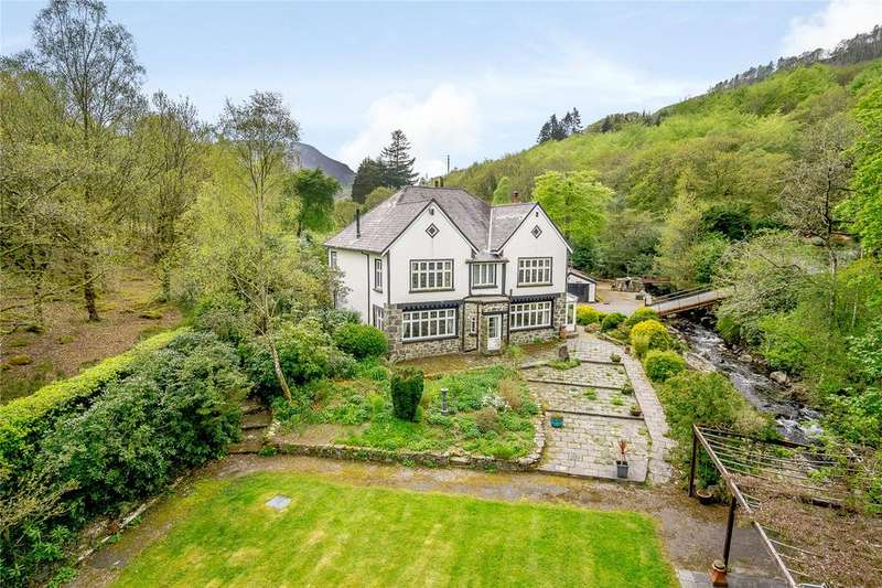 5 Bedrooms Detached House for sale in Crafnant Road, Trefriw, Gwynedd