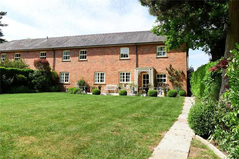 4 Bedrooms Barn Conversion Character Property for sale in Withinlee Barn, Oak Road, Mottram St Andrew, Cheshire, SK10