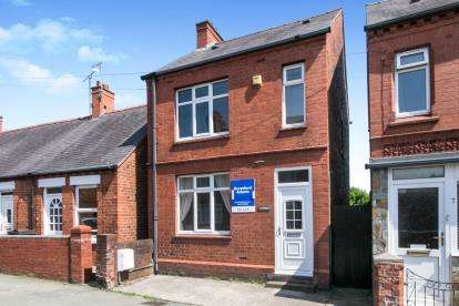 2 Bedrooms Detached House for sale in New Street, Rhosllanerchrugog, Wrexham, Wrecsam, LL14