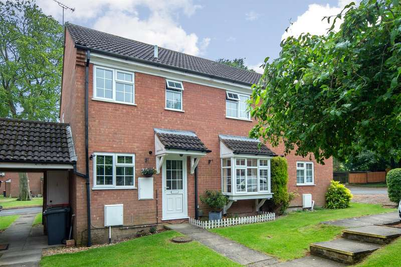 2 Bedrooms End Of Terrace House for sale in Bowmans Close, Dunstable
