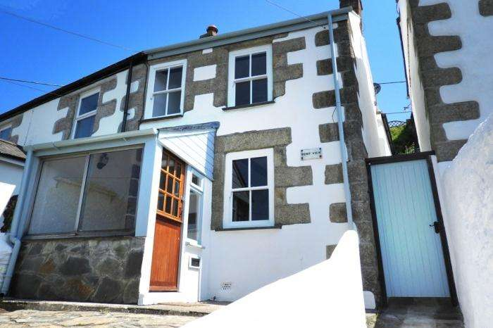 2 Bedrooms Cottage House for sale in WEST VIEW, 2 PEVERELL TERRACE, PORTHLEVEN, TR139DX