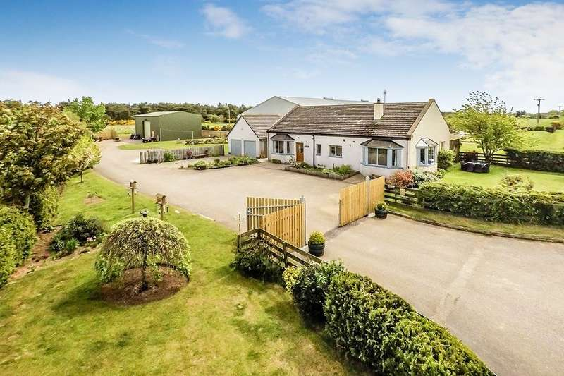 3 Bedrooms Detached Bungalow for sale in Fearn, Tain, IV20