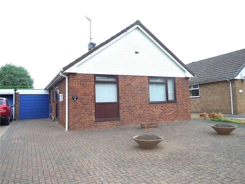 2 Bedrooms Detached Bungalow for sale in Long Meadow Road, Alfreton, Derbyshire, DE55