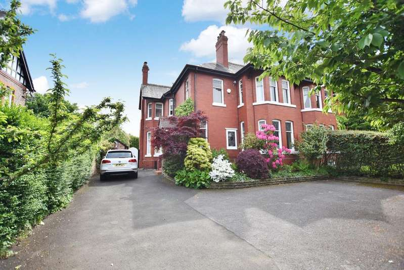 4 Bedrooms Semi Detached House for sale in Hale Road, Altrincham