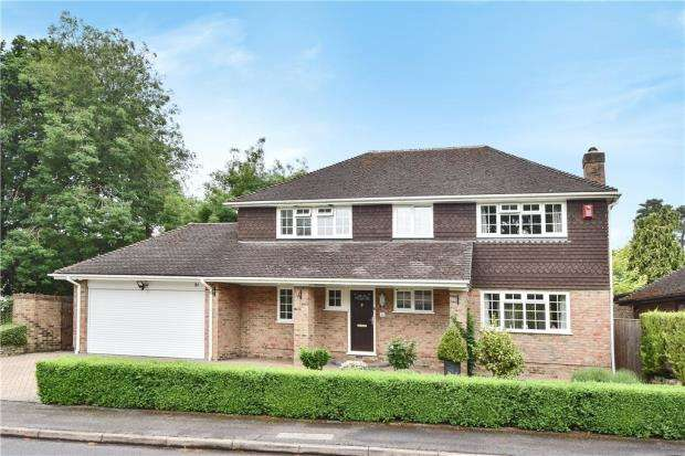 4 Bedrooms Detached House for sale in Waldorf Heights, Blackwater, Camberley